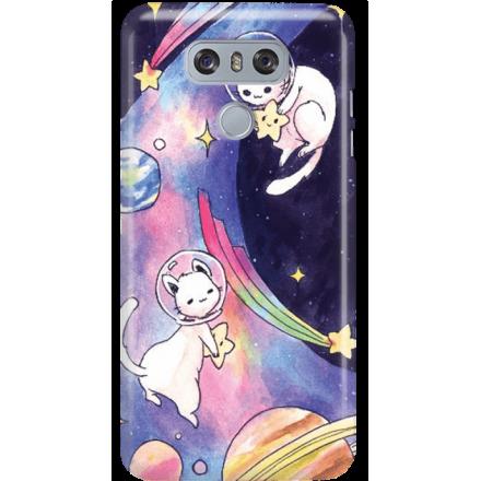 Etui na telefon LG G6 Kosmiczne Koty
