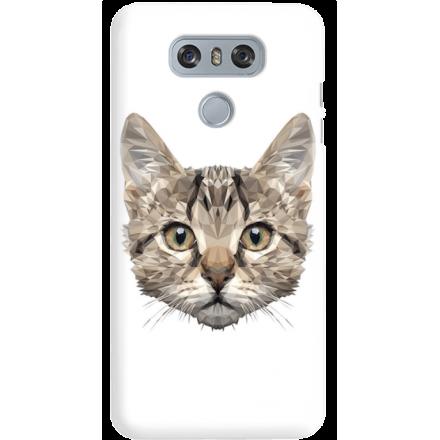 Etui na telefon LG G6 Kot Geometryczny
