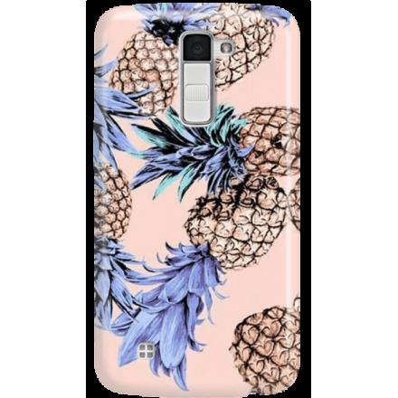 Etui na telefon LG K10 Ananasy