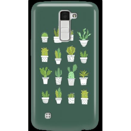 Etui na telefon LG K10 Kaktusy