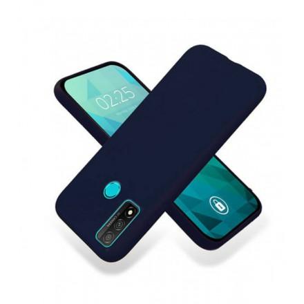 ETUI GUMA SMOOTH NA TELEFON HUAWEI P SMART 2020 GRANATOWY