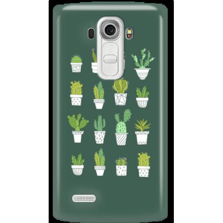 Etui na telefon LG G4 Kaktusy