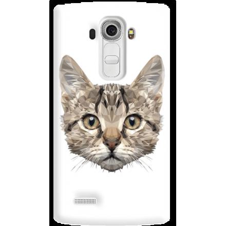 Etui na telefon LG G4 Kot Geometryczny