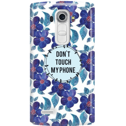 Etui na telefon LG G4 Kwiaty