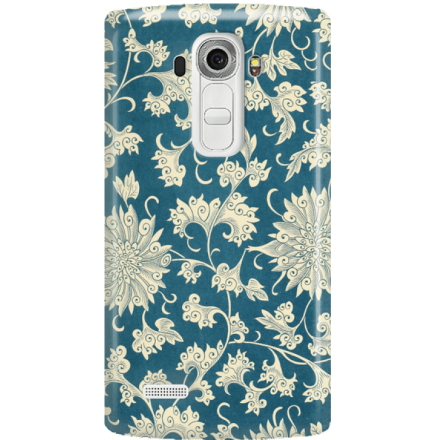 Etui na telefon LG G4 Kwiaty Ornamenty