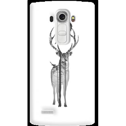 Etui na telefon LG G4 Leśny Jeleń