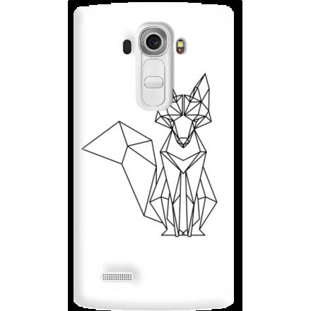 Etui na telefon LG G4 Lis Geometryczny