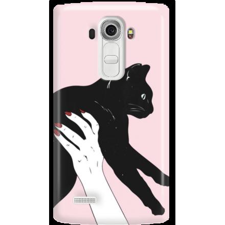 Etui na telefon LG G4 Mój Czarny Kot