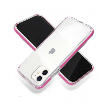 ETUI SUMMER CASE NA TELEFON APPLE IPHONE 12 MINI MALINOWY