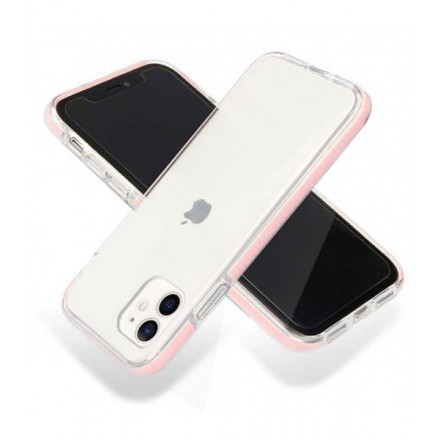 ETUI SUMMER CASE NA TELEFON APPLE IPHONE 12 MINI RÓŻOWY