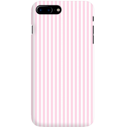 Etui na telefon Iphone 7 Plus / 8 Plus Candy Różowe Paski