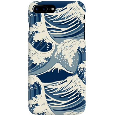 Etui na telefon Iphone 7 Plus / 8 Plus Japonskie Fale