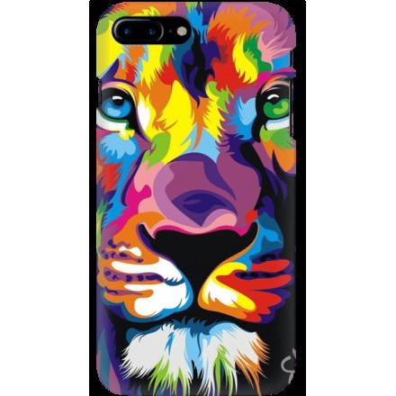 Etui na telefon Iphone 7 Plus / 8 Plus Kolorowy Lew