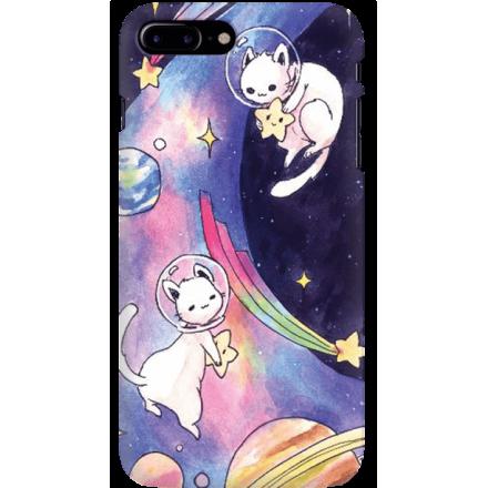 Etui na telefon Iphone 7 Plus / 8 Plus Kosmiczne Koty