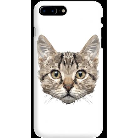 Etui na telefon Iphone 7 Plus / 8 Plus Kot Geometryczny