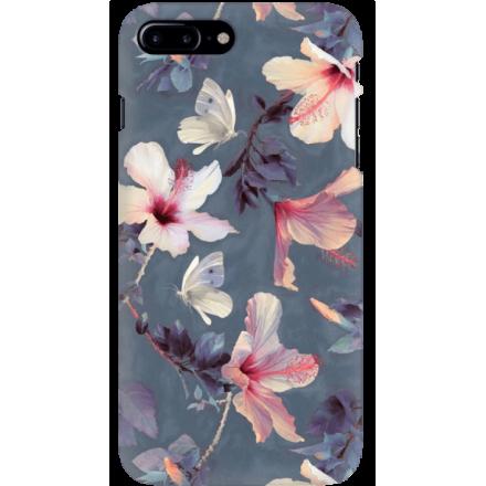 Etui na telefon Iphone 7 Plus / 8 Plus Kwiatowy Ogród