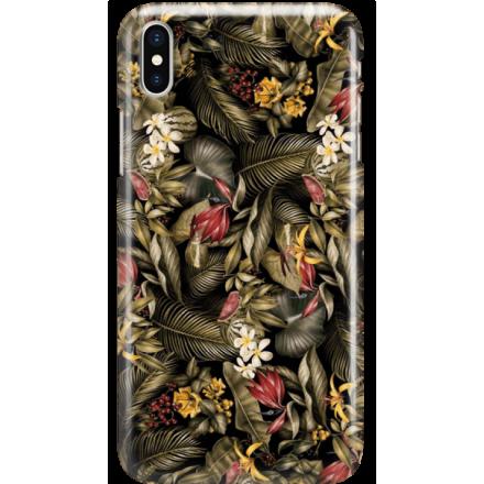 Etui na telefon Iphone X Egzotyczne Rośliny