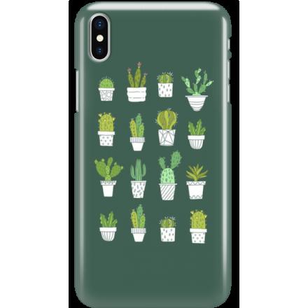 Etui na telefon Iphone X Kaktusy
