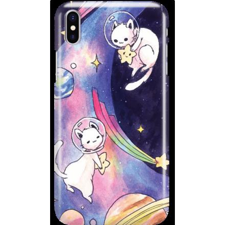 Etui na telefon Iphone X Kosmiczne Koty