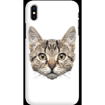 Etui na telefon Iphone X Kot Geometryczny
