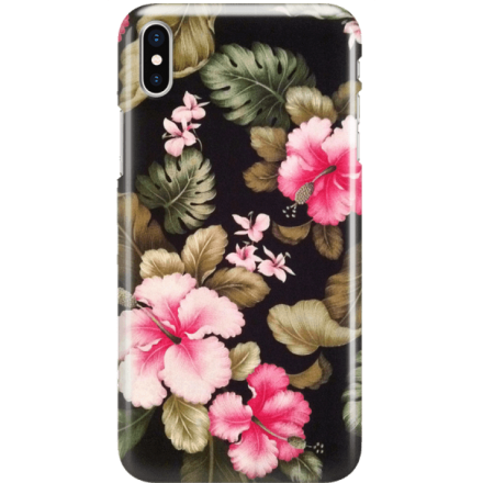 Etui na telefon Iphone X Kwiatowy Raj