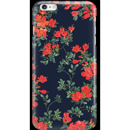 Etui na telefon Iphone 6 Plus / 6S Plus Czerwone Kwiaty