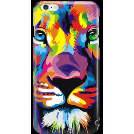 Etui na telefon Iphone 6 Plus / 6S Plus Kolorowy Lew