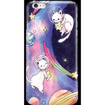 Etui na telefon Iphone 6 Plus / 6S Plus Kosmiczne Koty