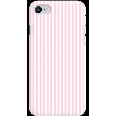 Etui na telefon Iphone 7 / 8 Candy Różowe Paski