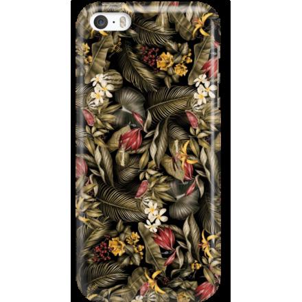Etui na telefon Iphone 5 5S SE Egzotyczne Rośliny