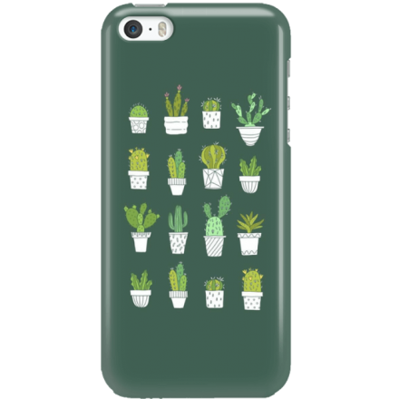 Etui na telefon Iphone 5 5S SE Kaktusy