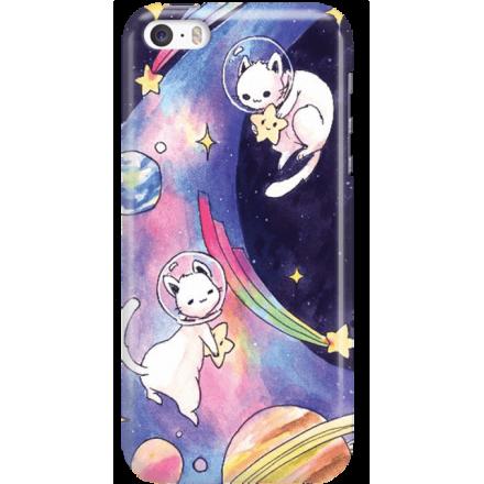 Etui na telefon Iphone 5 5S SE Kosmiczne Koty