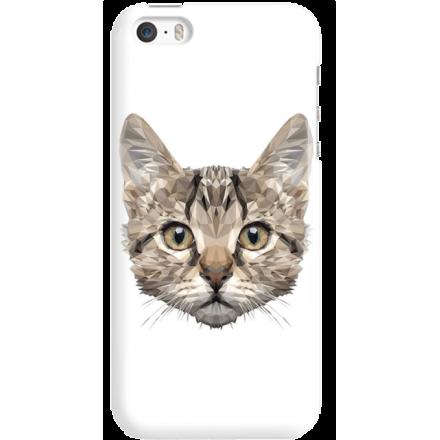 Etui na telefon Iphone 5 5S SE Kot Geometryczny
