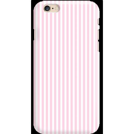 Etui na telefon Iphone 6 6S Candy Różowe Paski