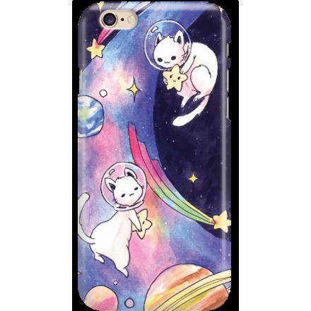 Etui na telefon Iphone 6 6S Kosmiczne Koty