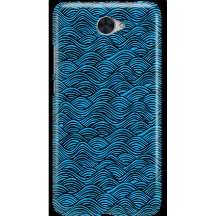 Etui na telefon Huawei Y7 Falujące Morze