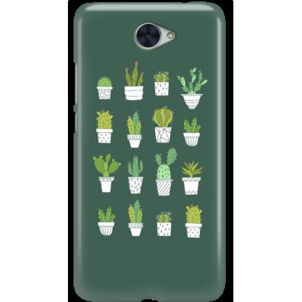 Etui na telefon Huawei Y7 Kaktusy