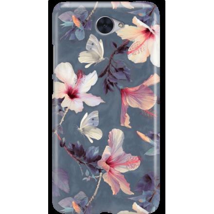Etui na telefon Huawei Y7 Kwiatowy Ogród