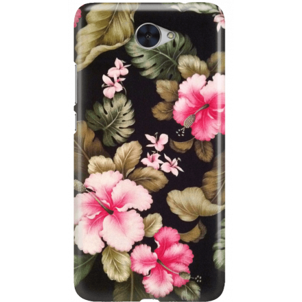 Etui na telefon Huawei Y7 Kwiatowy Raj