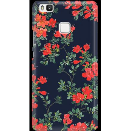 Etui na telefon Huawei P9 Lite Czerwone Kwiaty