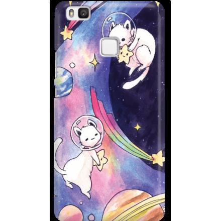 Etui na telefon Huawei P9 Lite Kosmiczne Koty