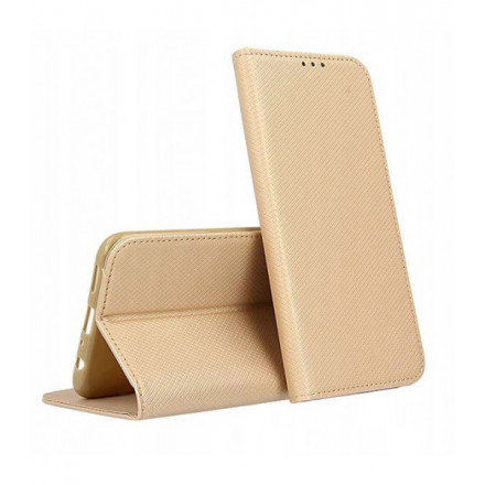 ETUI BOOK MAGNET NA TELEFON SAMSUNG GALAXY A82 5G ZŁOTY
