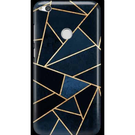 Etui na telefon Huawei P9 Lite 2017 Geometyczne Indygo