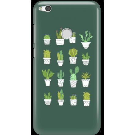 Etui na telefon Huawei P9 Lite 2017 Kaktusy