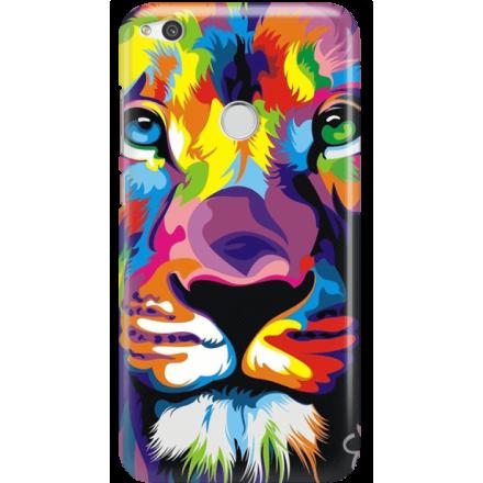 Etui na telefon Huawei P9 Lite 2017 Kolorowy Lew