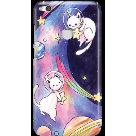Etui na telefon Huawei P9 Lite 2017 Kosmiczne Koty