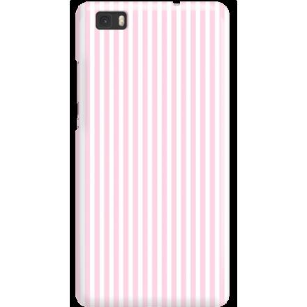 Etui na telefon Huawei P8 Lite Candy Różowe Paski
