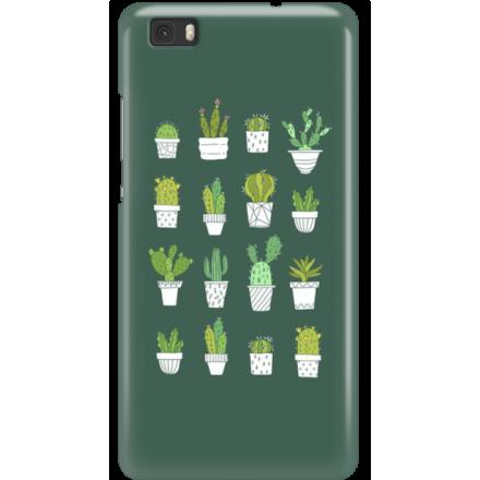 Etui na telefon Huawei P8 Lite Kaktusy