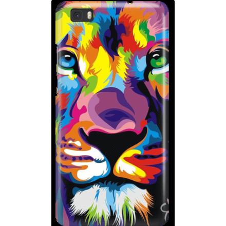 Etui na telefon Huawei P8 Lite Kolorowy Lew