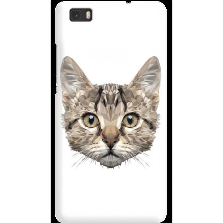 Etui na telefon Huawei P8 Lite Kot Geometryczny
